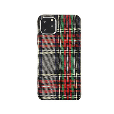 voordelige iPhone 6 Plus hoesjes-hoesje Voor Apple iPhone 11 / iPhone 11 Pro / iPhone 11 Pro Max Ultradun / Patroon Achterkant Geometrisch patroon TPU