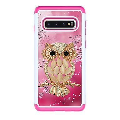 voordelige Galaxy S-serie hoesjes / covers-hoesje Voor Samsung Galaxy S9 / S9 Plus / S8 Plus Schokbestendig / Patroon Achterkant dier PU-nahka