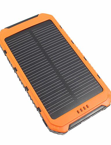 저렴한 보조배터리-10000 mAh 제품 전원 은행 외부 배터리 5 V 제품 3.1 A / # 제품 배터리 충전기 방수 / 멀티 출력 / 태양열 충전 LED