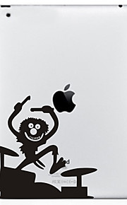 1 pc Back Protector Screen Protectors for Scratch Proof Playing with Apple Logo Pattern MacBook Pro 13''
