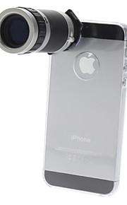 6x optikai zoom objektív teleszkóp az iPhone 5 mobiltelefon objektívhez