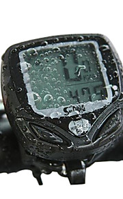 SUNDING Engineering Plastic Wireless 15 Functions Waterproof Cycling Computer 548C2(Black)