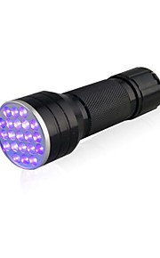 D12UV-1-0-2 LED Flashlights / Torch Black Light Flashlights/Torch Handheld Flashlights/Torch LED lm 1 Mode 5mm Lamp Waterproof