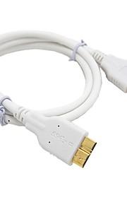 usb 3.0 micro usb 3.0 cable normal para cables telefónicos pvc 300 cm& adaptadores