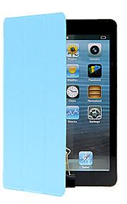 Maska Pentru Apple iPad Mini 4 iPad Mini 3/2/1 Cu Stand Origami Carcasă Telefon Culoare solidă Greu PU piele pentru iPad Mini 4 iPad Mini
