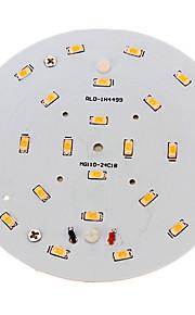 800-900 lm Taklys 24 leds SMD 5730 Dekorativ Varm hvit AC 100-240V