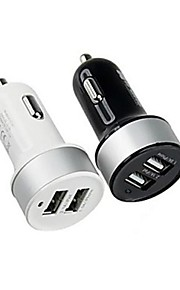 High Quarlity Dual-USB Car Charger for iPhone 6/6Plus iPhone 5/5S and Other Smartphone and Tabs(Assorted Colors)