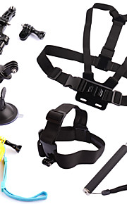 Chest Harness Front Mounting Suction Cup Straps Hand Grips/Finger Grooves Monopod Mount / Holder Floating For Action Camera Gopro 5 Gopro