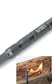 Survival Kit / Fire Starter / Credit Card Survival Tool Hiking Multi Function / Survival Aluminium / Metal Gray