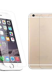 Защитная плёнка для экрана Apple для iPhone 6s iPhone 6 Закаленное стекло 1 ед. Защитная пленка для экрана и задней панели