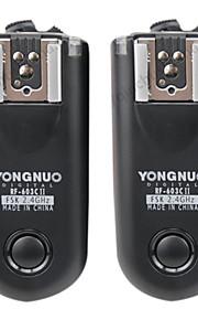 yongnuo rf-603ii c1 trådløs flash controller til 60D / 600D / 550D / 650D / 450D