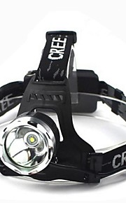 Headlamps Headlight LED 1800 lm 3 Mode Cree XM-L T6 Waterproof Multifunction