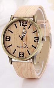 Mulheres Relógio de Moda Quartzo PU Banda Cáqui