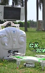 Drone Cheerson cx30w 4CH 6 Eixos 2.4G Com Câmera Quadcóptero RC Retorno Com 1 Botão / Modo Espelho Inteligente Branco