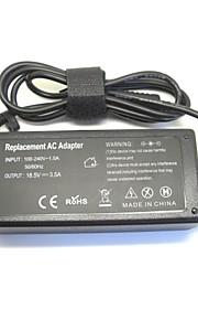 18.5V 3.5A 65W ac laptop strømadapter lader for hp 500 510 520 530 540 550 620 625 cq515