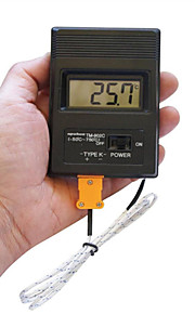 """Portable 2"""" Screen Digital LCD Thermometer Thermodetector Meter -50°C-1300°C  (1 x 9V Battery)"""