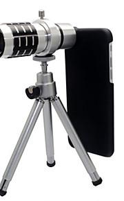 아이폰 6을위한 삼각대가 장착 된 12 배 광학 줌 망원경 카메라 렌즈