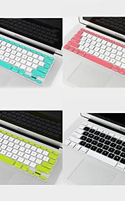 """coosbo® tvåfärgade skydds tangentbord täcker för 11 15 """"17"""" MacBook luft / pro / näthinnan display """"13,3"""" (blandade färger)"""