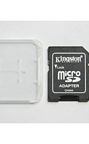 originais kingston digital da classe 8 gb 10 micro SD eo cartão de memória e caixa de adaptador do cartão de memória