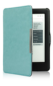 Case For KOBO Full Body Cases Cases with Stand Full Body Cases Solid Color Hard PU Leather for