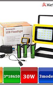 YGWL-033 Lanternas e Luzes de Tenda LED 1600 LUMENS lm 3 Modo LED Com Pilhas e Carregador Recarregável Emergência Campismo / Escursão /
