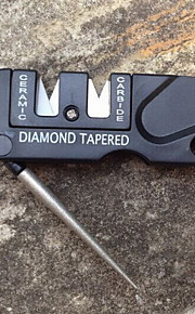 Fashion Tungsten Steel/Ceramic/Diamond Knife Sharpeners EDC Camping Outdoor Multitools Necessary