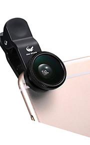 ABS 어안 렌즈 광각 렌즈 10X 이상 180 유니버셜 iPad Note 4 Note 2 iPhone 5 iPhone 6