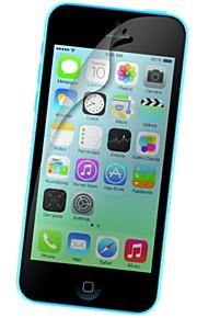10 sztuk hd przezroczysty ekran przedni film dla iphone 5 / 5s / 5c iphone se / 5s / 5c / 5 screen protector