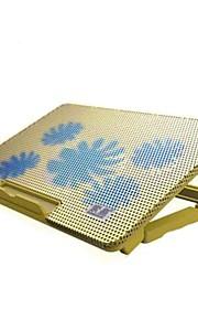 ergonómico panel de refrigeración refrigerador ajustable con el sostenedor del soporte portátil PC portátil