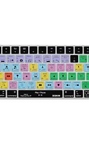 XSKN Final Cut Pro X 10.2 kortkommandot täcka silikonhölje för magiska tangentbord 2015 version, oss layout