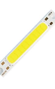 ZDM ™ 5W cob 900lm 3000k varm hvit lys stripe (dc 9-11v)