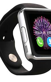 Смарт Часы для iOS / Android Израсходовано калорий / Хендс-фри звонки / Фотоаппарат Напоминание о звонке / Датчик для отслеживания сна / Сидячий Напоминание / будильник / Календарь / 1.3 мегапикс.