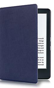 Hülle Für Amazon Ganzkörper-Gehäuse Tablet-Hüllen Volltonfarbe Hart PU-Leder für
