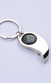 Compass Rudder bottle opener Key Chain, Glossy Alloy Keychain Keyrings Best Gifts