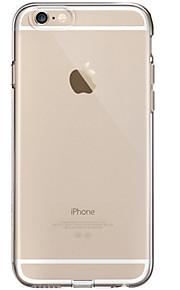 Kılıf Na Apple iPhone 8 iPhone 8 Plus Przezroczyste Czarne etui Solid Color Miękkie TPU na iPhone 8 Plus iPhone 8 iPhone 7 Plus iPhone 7