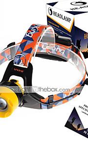 U'King ZQ-X8001 Lanternas de Cabeça Faixa Para Lanterna de Cabeça Farol Dianteiro LED 2000LM lm 3 Modo Cree XM-L T6 Foco Ajustável