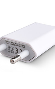 Adaptery Telefonowa ładowarka USB Wtyczka EU 1 port USB 1.5A