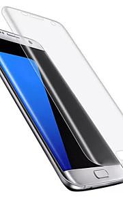 화면 보호기 Samsung Galaxy 용 S7 edge TPU 1개 화면 보호 필름 울트라 씬 폭발의 증거 고해상도 (HD)