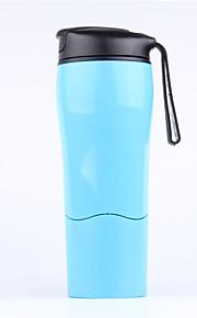 1 Pça. Canecas de Viagem / copo Portátil Talheres e Copos de Viagem para Portátil Talheres e Copos de Viagem Branco Preto Vermelho Azul