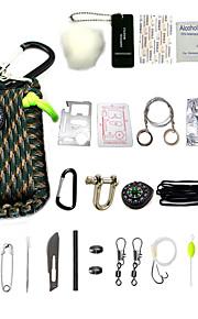 Tecido Canecas de Viagem / copo Porta-Comprimidos para Viagem Portátil Acessórios de Emergência para Viagens