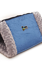 Cat Dog Bed Pet Blankets Breathable Blue