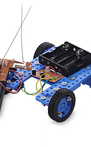 Crab Kingdom DIY Model Assembled Toys Technology With Remote Control Gear Motor Small Car 36