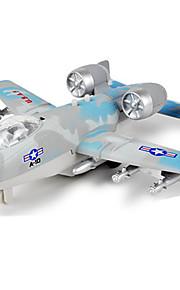 비행기 및 헬리콥터 푸시 & 당겨 장난감 1:10 메탈 브론즈드 블랙 페이드 브라운