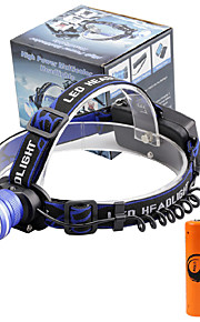 U'King Lanternas de Cabeça Farol Dianteiro LED 2000 lm 3 Modo Cree XM-L T6 Alarme Foco Ajustável Tamanho Compacto Fácil de Transportar