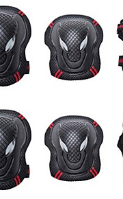 Adult Knee Pads + Elbow Pads + Wrist Pads for Inline Skates Roller Skates Hoverboard Protective Breathable 6 pack