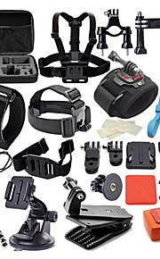 42 pcs Αξεσουάρ Κιτ Αδιάβροχη 42 σε 1 Για την Κάμερα Δράσης Gopro 6 Gopro 5 Xiaomi Camera Gopro 4 Gopro 4 Silver Καταδύσεις Σέρφινγκ Κυνήγι και Ψάρεμα Πλαστική ύλη Νάιλον EVA / Gopro 1 / Gopro 2
