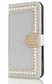 Etui Käyttötarkoitus Samsung Galaxy S8 Plus S8 Korttikotelo Lomapkko Paljetti Tuella Flip Magneetti Suojakuori Kova varten S8 Plus S8 S7