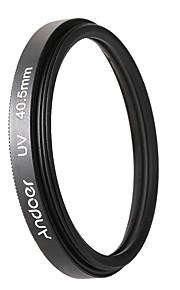 Andoer 40.5mm uvcplfld cirkulært filter kit cirkulært polarisatorfilter fluorescerende filter med taske til Nikon Canon Pentax Sony DSLR