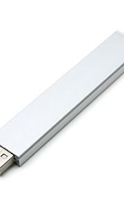 Ordenador portátil para la PC del cuaderno alta calidad 10cm 1.4w 8 smd 5152 tira de aluminio de la cáscara brillantes estupendos usb