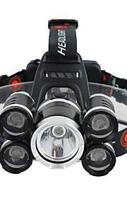 Lanternas de Cabeça Faixa Para Lanterna de Cabeça luzes de segurança Farol Dianteiro LED 3000 lm 1 Modo Cree XM-L T6 Controle de Ângulo